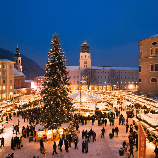 Christmas Markets in Salzburg ➣ When & Where to Find Them